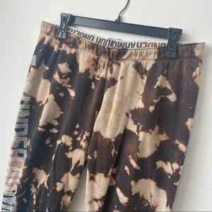 Under Armour Bleach Dye Cropped Sweatpants